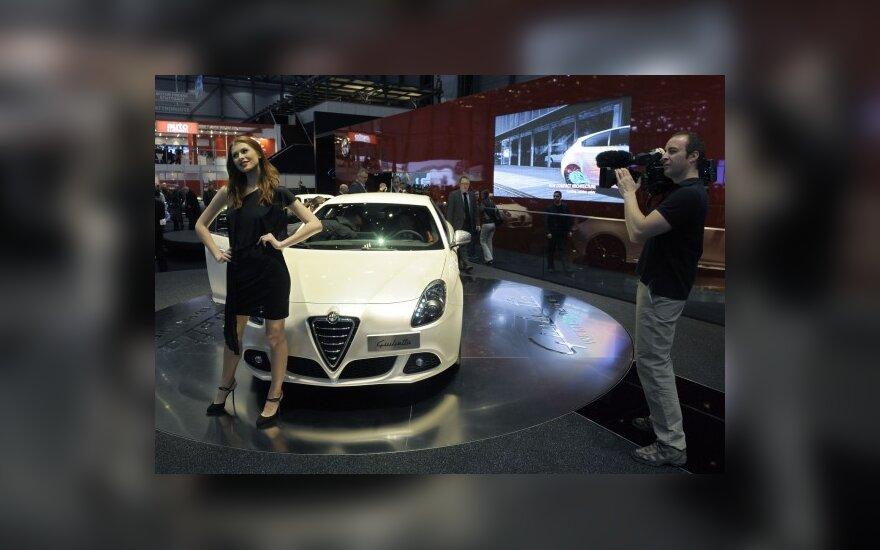 Alfa Romeo Giulietta Ženevos automobilių parodoje