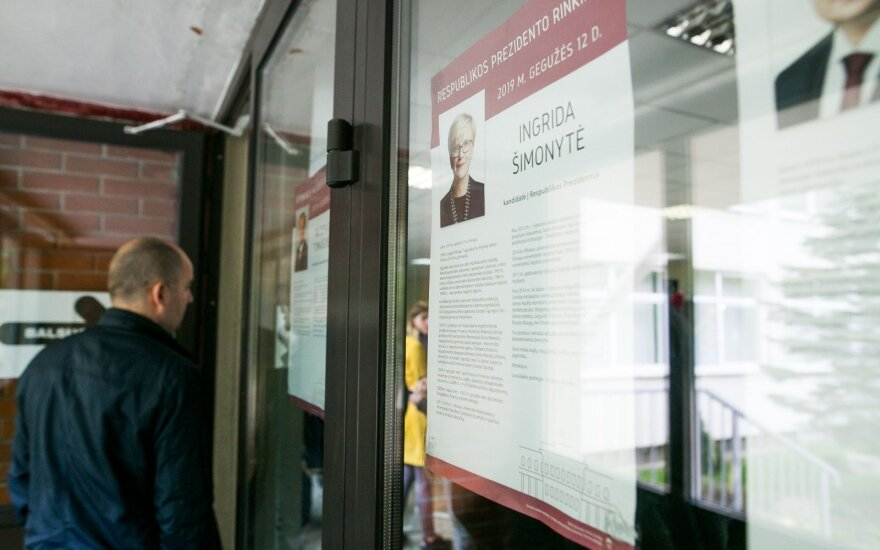 Over 41 thousand Lithuanians voted abroad: Simonyte leads