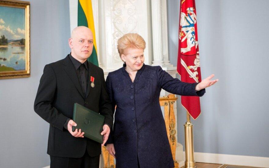 Gabrielius Liaudanskas - Svaras ir Dalia Grybauskaitė