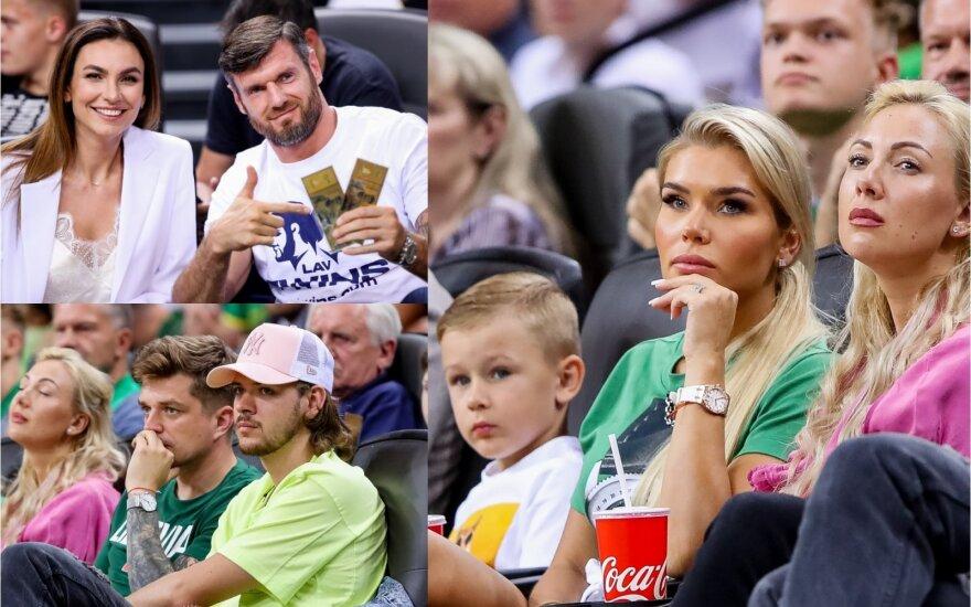 Krepšinio rungtynes stebi Valančiūnienė ir kiti žinomi žmonės