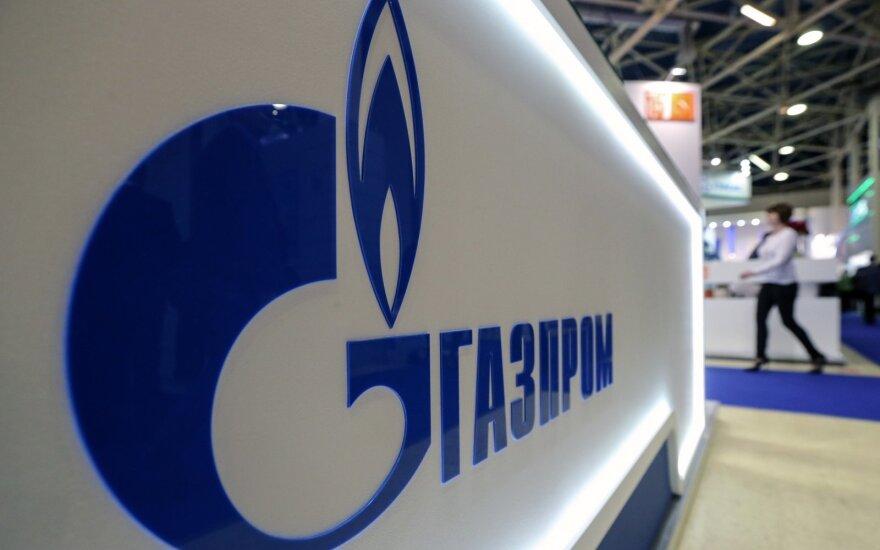 """""""Gazprom"""" pelnas pernai padvigubėjo"""