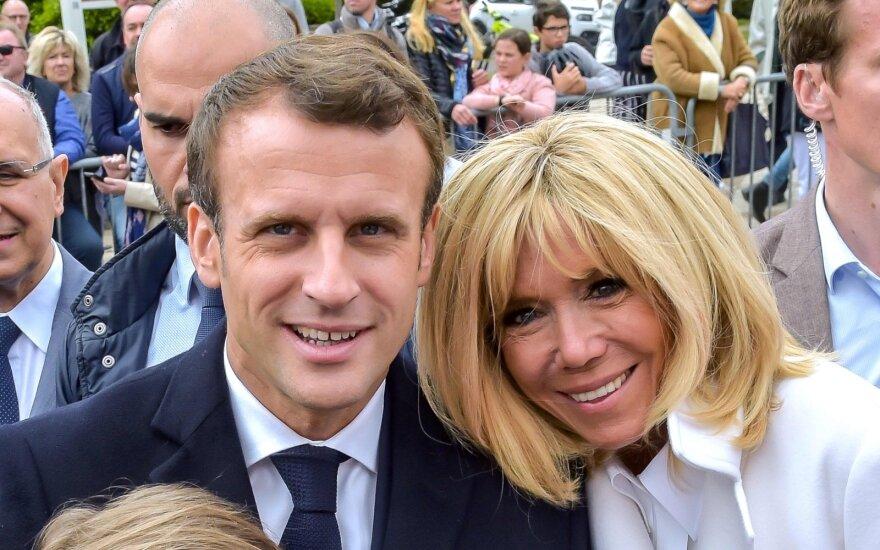 Emmanuelis Macronas, Brigitte Macron