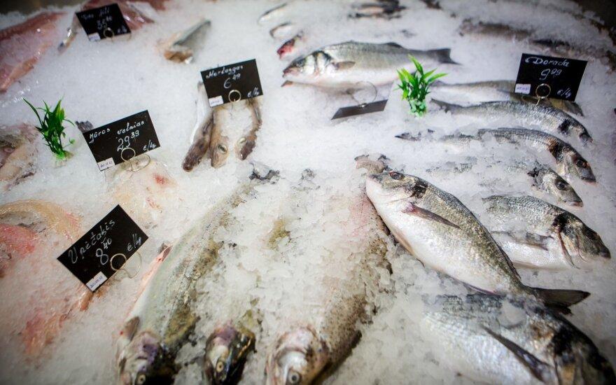 Ieškantiems šviežios žuvies: kada tikėtis mažesnių kainų