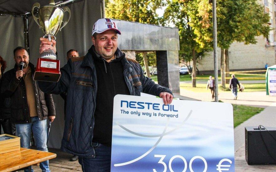 Geriausias Lietuvos vairuotojas 2015 finalas