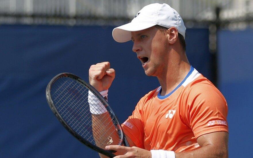 Devynių iš eilės pralaimėjimų serija nutraukta: Berankis pergale pradėjo turnyrą Prancūzijoje