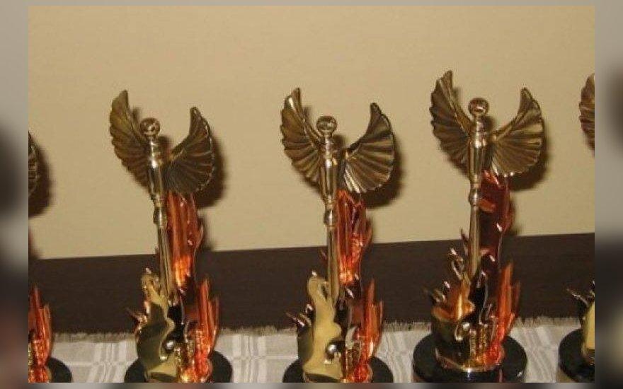 """Bus įteikti didžiausios šalies kultūros bendruomenės apdovanojimai """"Auksinis Feniksas"""""""