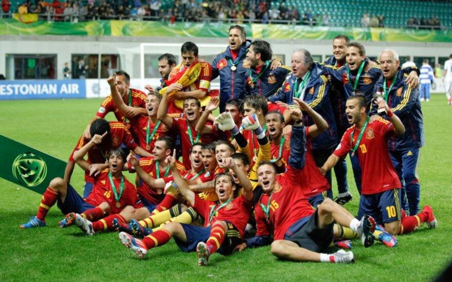 Ispanams - ir Europos 19-mečių futbolo čempionato auksas