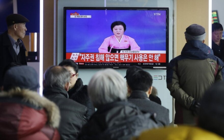 North Korea said it tested an H-bomb