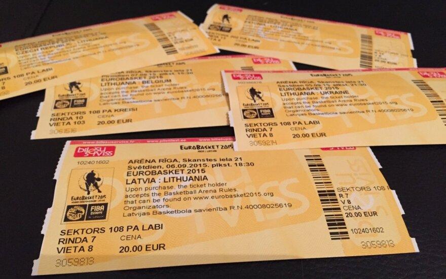 Nespėjusiems, bet vis dar norintiems: bilietų į Lietuvos rungtynes dar yra