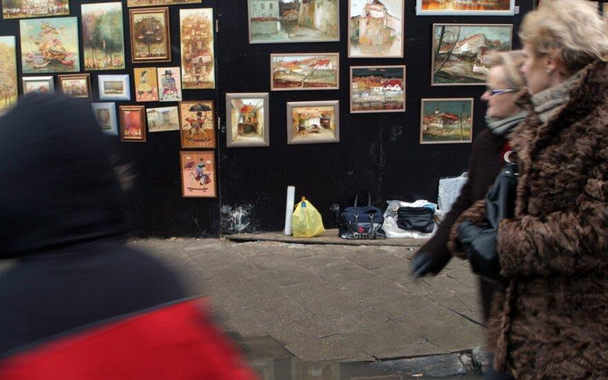 Pinigų plovimo prevencija turės rūpintis ir prekeiviai meno kūriniais