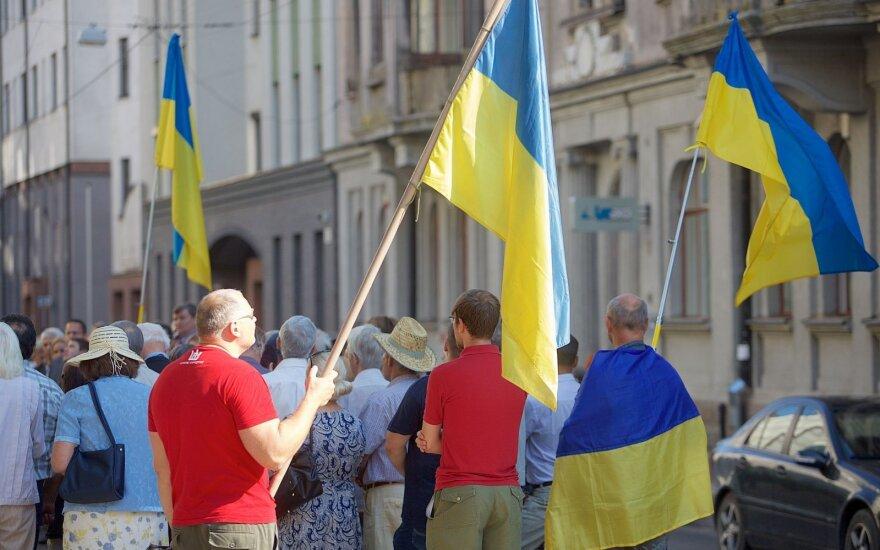 Lietuvos vadovai pasveikino Ukrainą Nepriklausomybės dienos proga