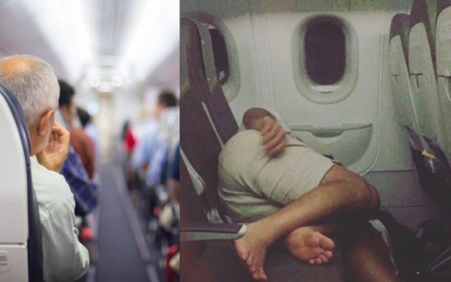 Lėktuvo keleiviai