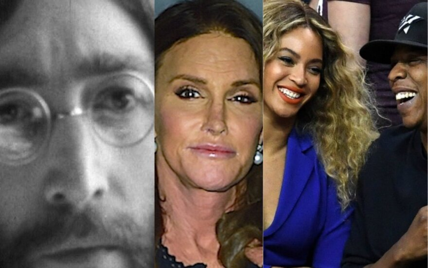 Johnas Lennonas, Caitlyn Jenner, Beyonece ir Jay Z