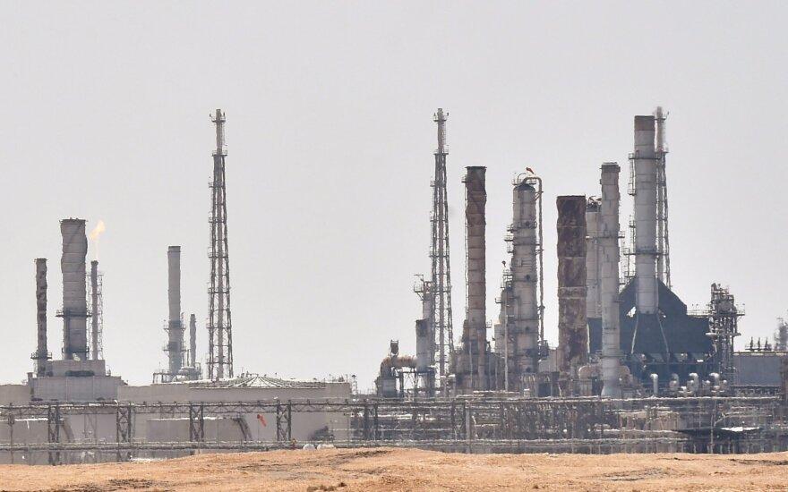 Saudo Arabija ramina: naftos gavyba iki rugsėjo pabaigos bus atstatyta