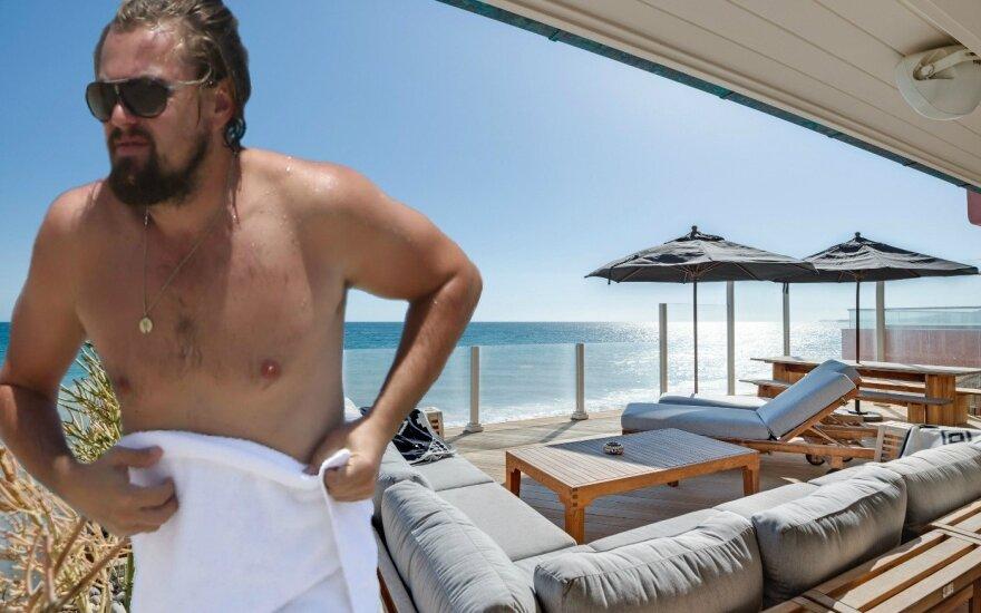 Fotografai po L. DiCaprio marškinėliais užfiksavo neįprastą detalę: ar tai išduoda jo sveikatos problemas?