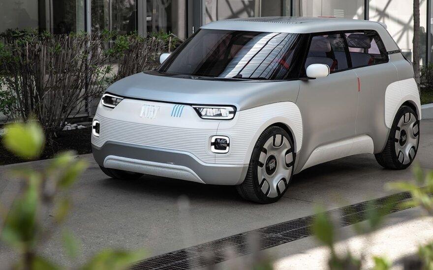 """""""Fiat"""" koncepcinis elektromobilis"""