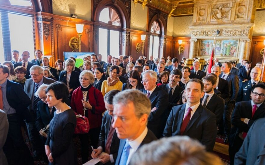Library of Congress Lithunian Regaining Independence Celebration  Photo Ludo Segers