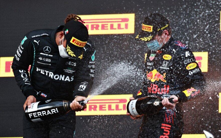 Lewisas Hamiltonas, Maxas Verstappenas