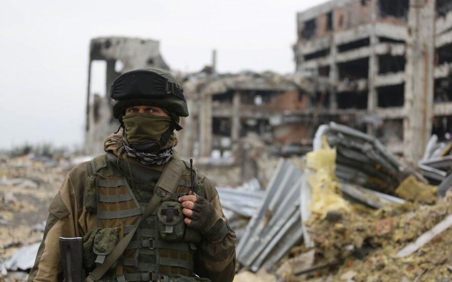 Ukrainos parlamentas pratęsė įstatymą dėl ypatingo Rytų Ukrainos statuso