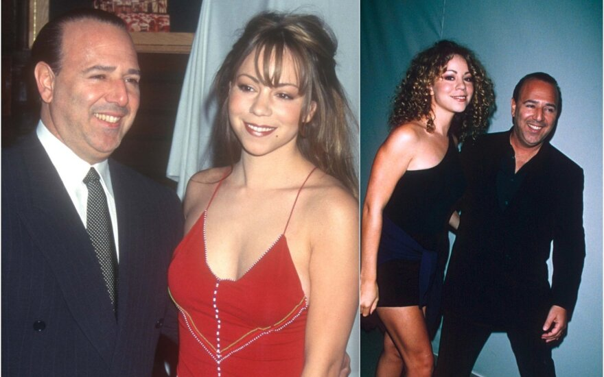 Mariah Carey su buvusiu vyru