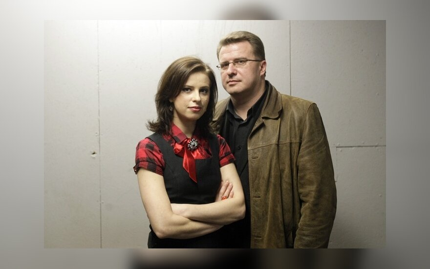 Agnė Petravičienė ir Dainius Miglinas