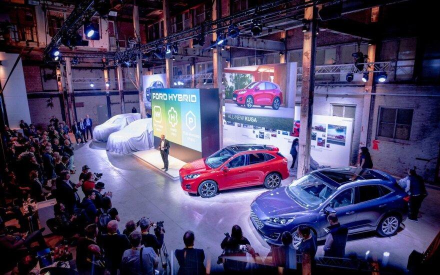 """""""Ford"""" renginyje """"Go Further"""" pristatė kompanijos ateitį"""
