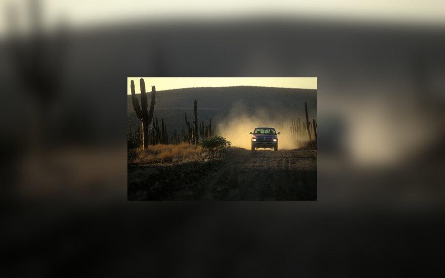 Meksika, kelias