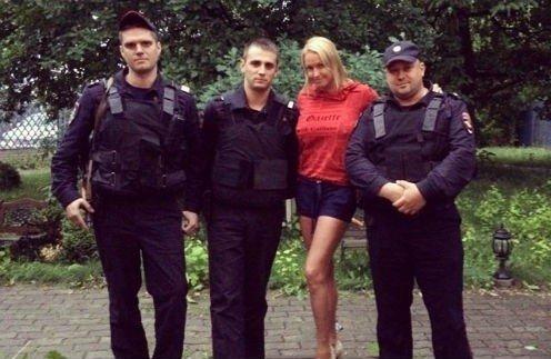 Волочкова снова опозорилась, на этот раз - с полицией