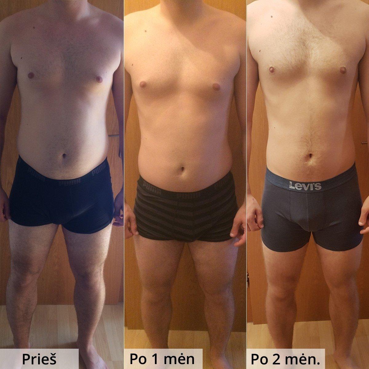 Ar galite numesti svorio būdamas 58?