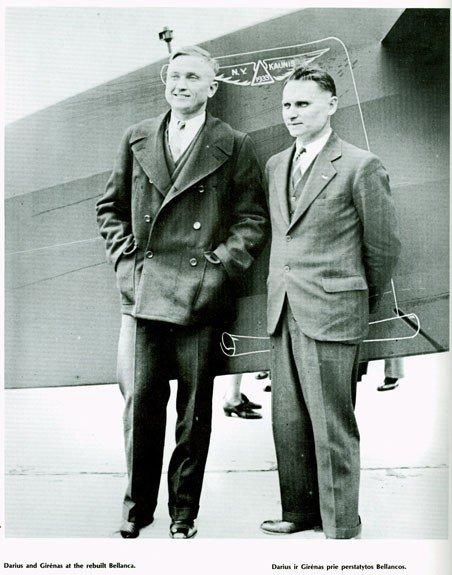 Atlanto nugalėtojai, išgarsinę Lietuvą – Steponas Darius ir Stasys Girėnas