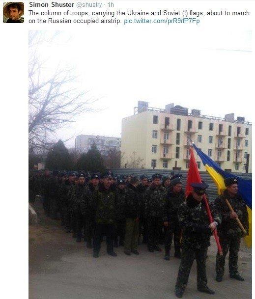 Крым: украинские моряки обвинили Путина во лжи