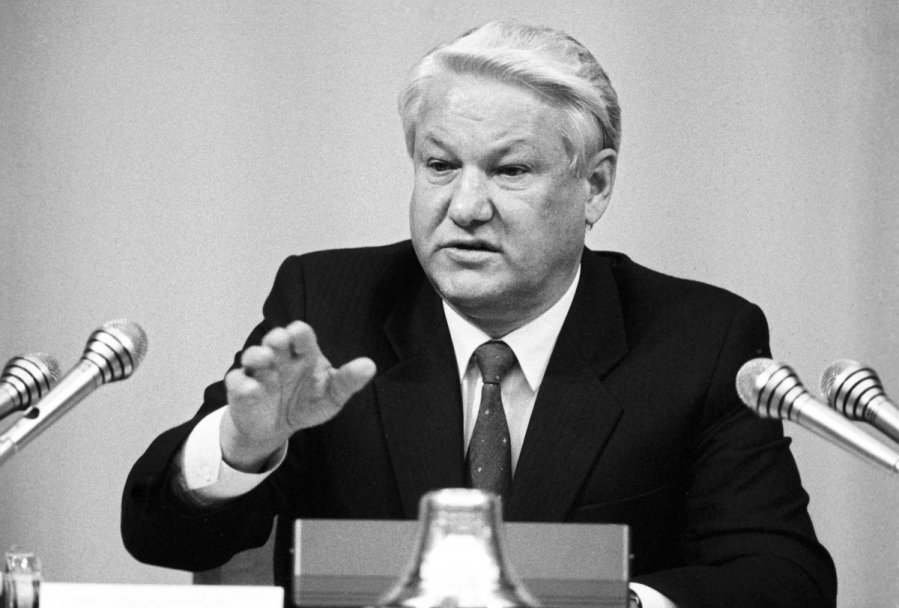 ВПетербурге на реализацию выставили бронированный лимузин Ельцина