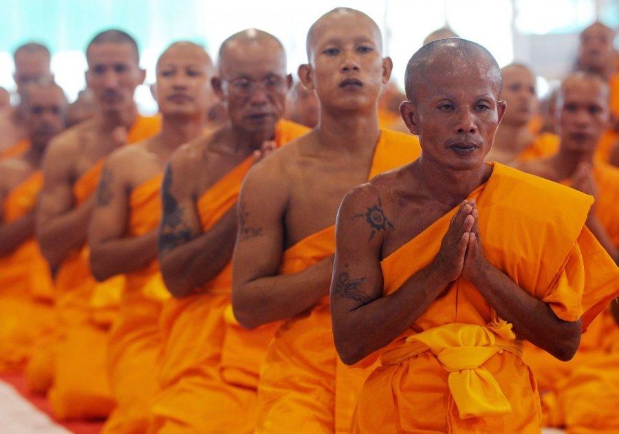Tibeto budistu vienuolis