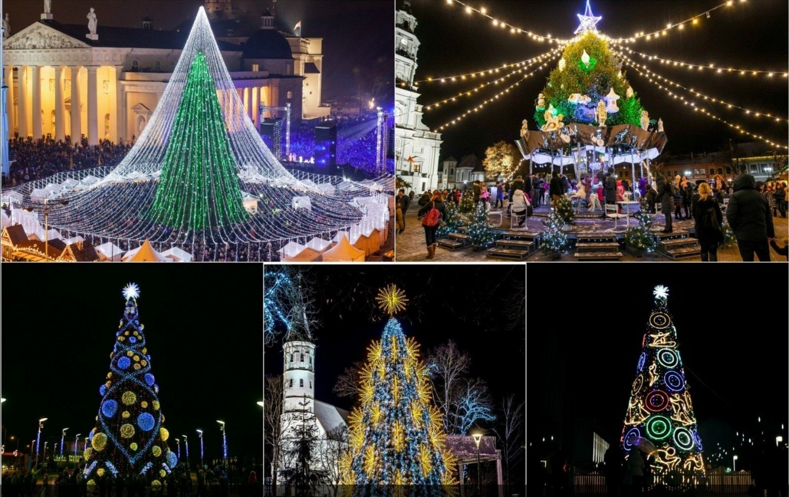 Select the most beautiful christmas tree of lithuania en for Most beautiful christmas photos