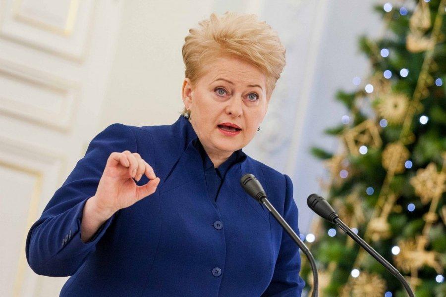 Президент Литви написала, що Крим - це Україна