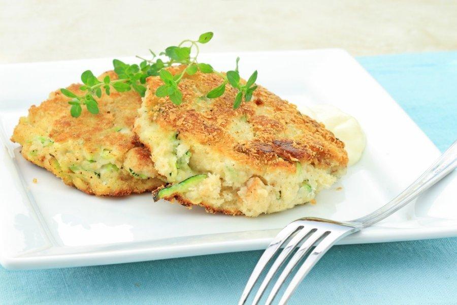 Zuchini Crab Cakes Receipie