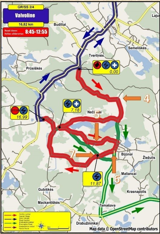 """DHL Rally Elektrėnai 2016"" 2-4 GR"