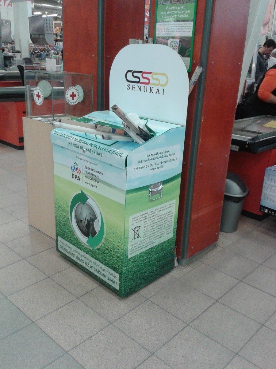 kas yra prekybos atliekų sistema)