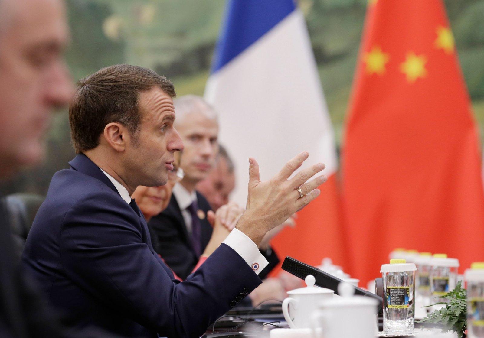 Макрон заявил, что НАТО находится в коматозном состоянии