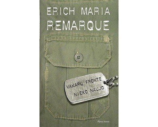 Ericho Maria Remarque'o knygos viršelis