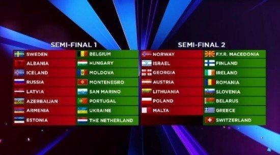 """Paaiškėjo, kuriame """"Eurovizijos"""" pusfinalyje Kopenhagoje pasirodys ir su kuo susikaus Lietuvos atstovas"""