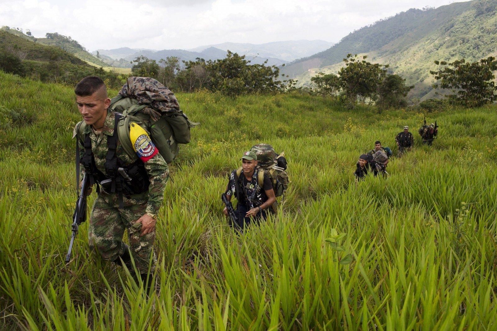Референдум омире сповстанцами происходит вКолумбии