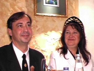 Birutė Petrikytė ir Igoris Karžickis