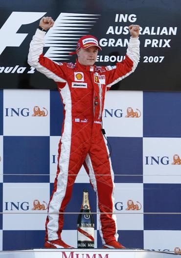 """Kimi Raikkonenas (""""Ferrari"""") laimėjo Melburno GP"""