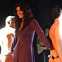 """Giedrė Rusytė kartu su striptizo šokėjais iš Prancūzijos """"French Team"""""""