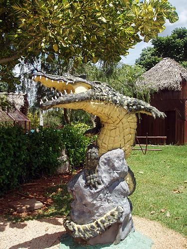 Kuba. Peninsula de Zapata. Krokodilas
