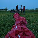 Oro baliono suvyniojimas