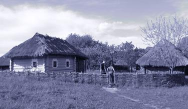 Senovinis namas, troba, sodyba