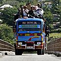 Autobusas, vykstantis į Rytų Timorą
