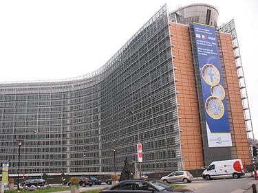 Europos Komisija, Briuselis